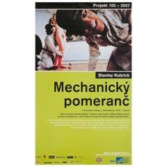 A Clockwork Orange R2007 Czech A1 Film Poster