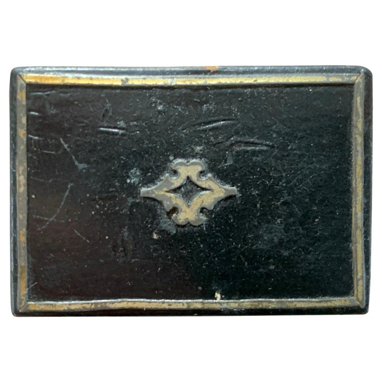 European Collection Of Antique 19th Century Snuff Boxes  For Sale 3