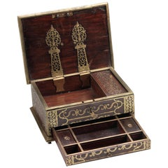 Colonial Islamic Arabian Market Jewelry Box, 18th Century, India/Malabar Coast