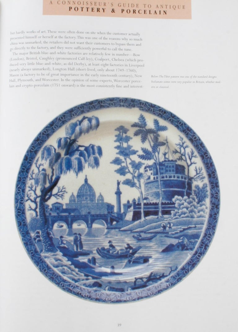 Paper A Connoisseur's Guide to Antique Pottery & Porcelain by Ronald Pearsall, 1st Ed For Sale