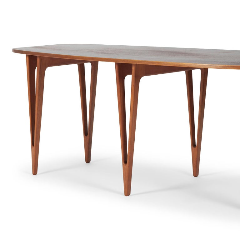 Danish Console Table by Børge Mogensen For Sale
