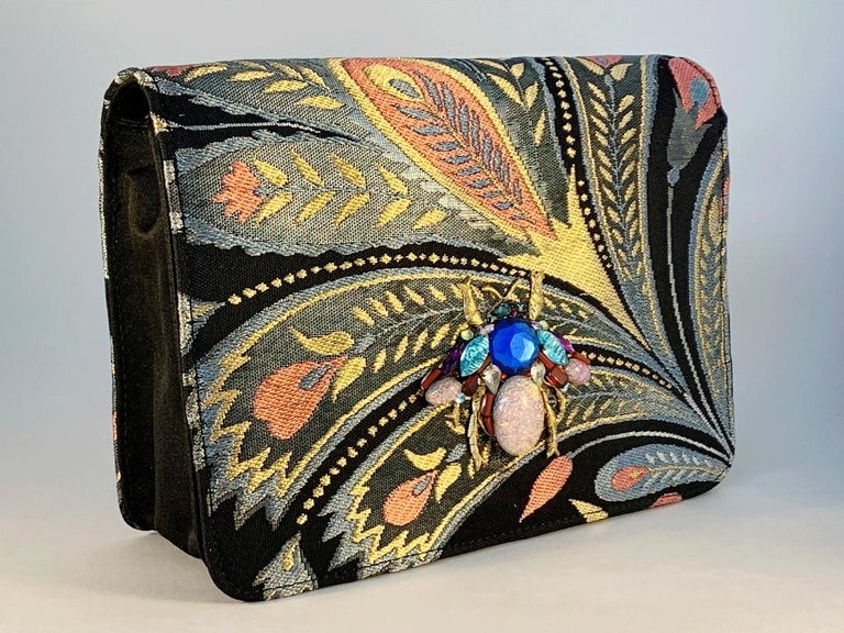 A contemporary 'Akira' japanese brocade melissa bag (model)  In New Condition For Sale In London, GB