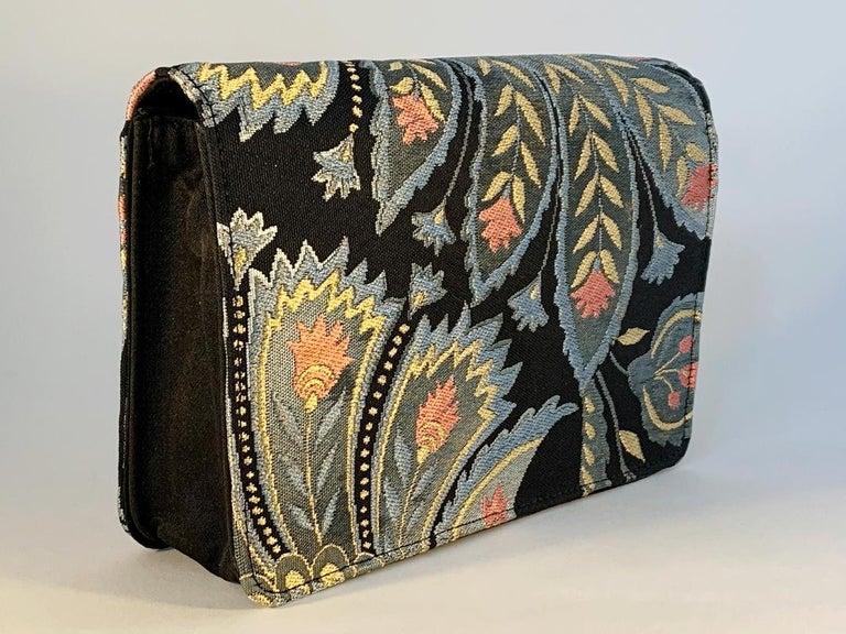 Women's or Men's A contemporary 'Akira' japanese brocade melissa bag (model)  For Sale