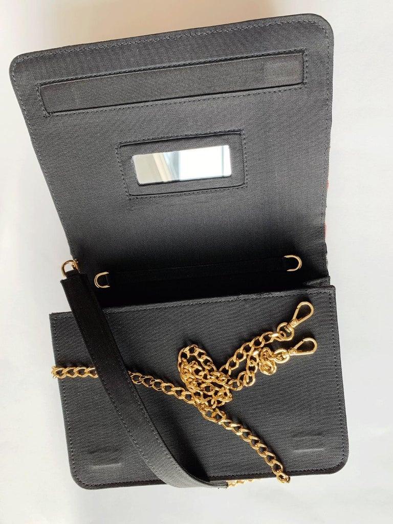 A contemporary 'Ameratsu' japanese brocade melissa bag (model)  For Sale 2