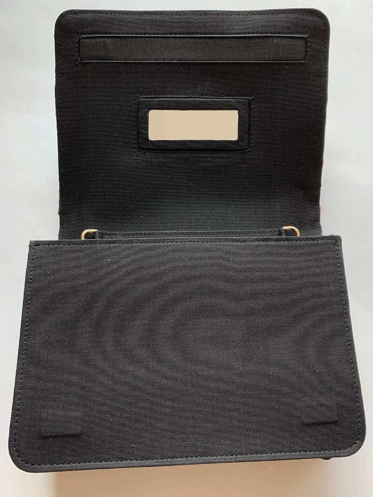 A contemporary 'Ameratsu' japanese brocade melissa bag (model)  For Sale 4