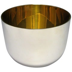 Contemporary Sterling Silver Tumbler Cup/Beaker