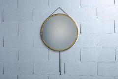 A Corrado Corradi Dell'Acqua Vipera Mirror for Azucena, Italy, 1960s