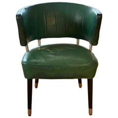 Curved Back Chair from SS United States
