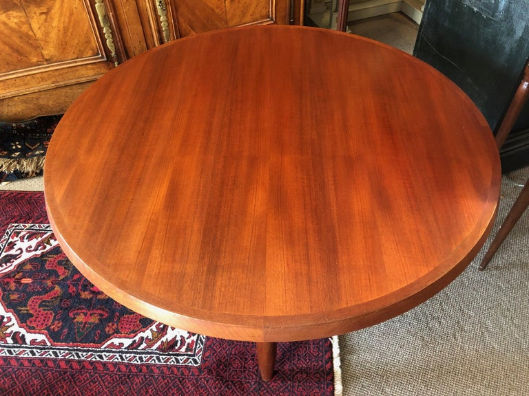 Mid-Century Modern Danish Coffee Table or Low Game by with Sculptural X Base For Sale