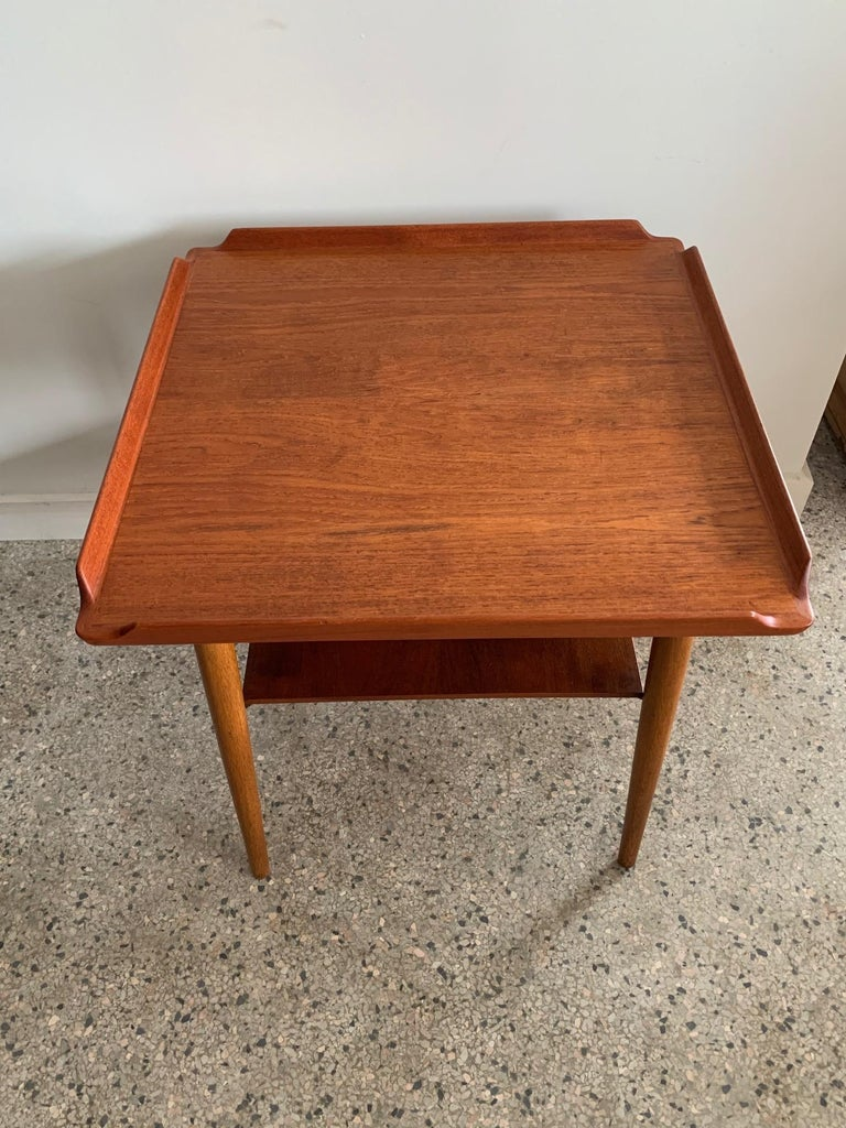 Danish Side Table by George Tanier For Sale 5