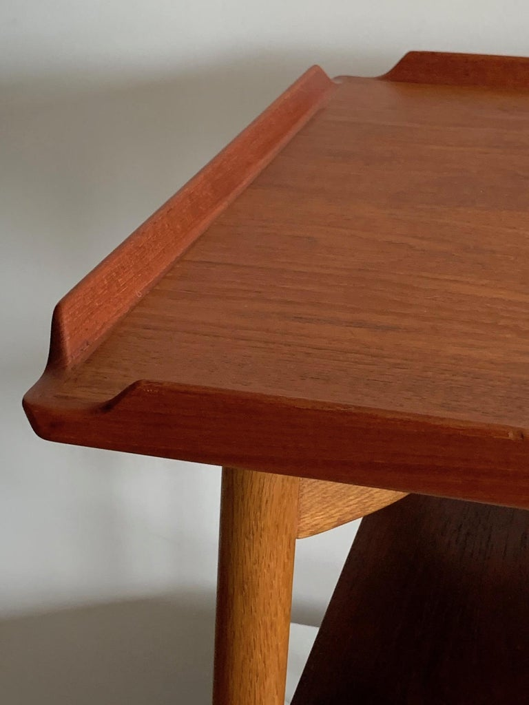 Danish Side Table by George Tanier For Sale 1