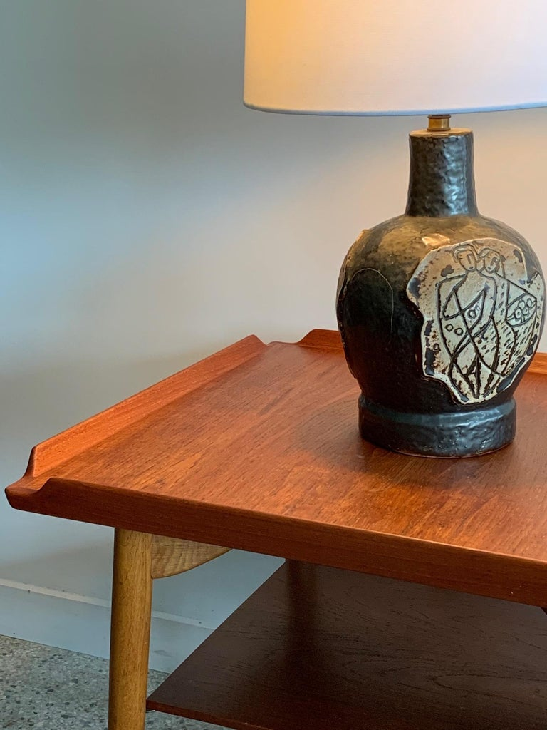 Danish Side Table by George Tanier For Sale 2