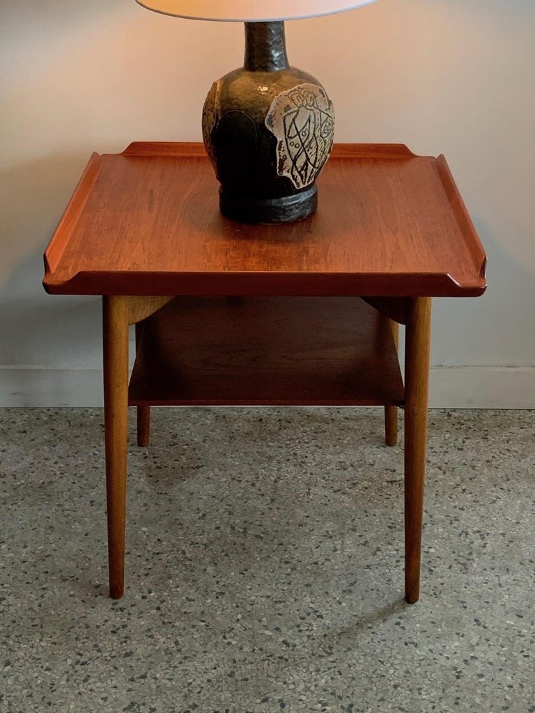 Danish Side Table by George Tanier For Sale 3