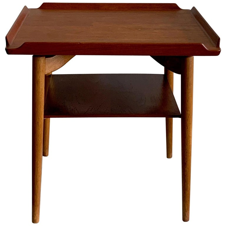 Danish Side Table by George Tanier For Sale