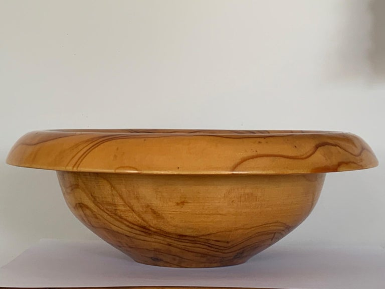 Mid-Century Modern Dawn Redwood Bowl by Ed Moulthrop