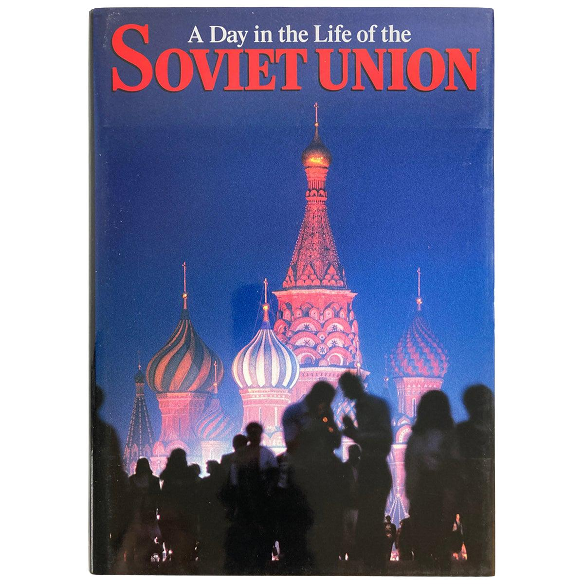 A Day in the Life of the Soviet Union Book by David Elliot Cohen Hardcover Book