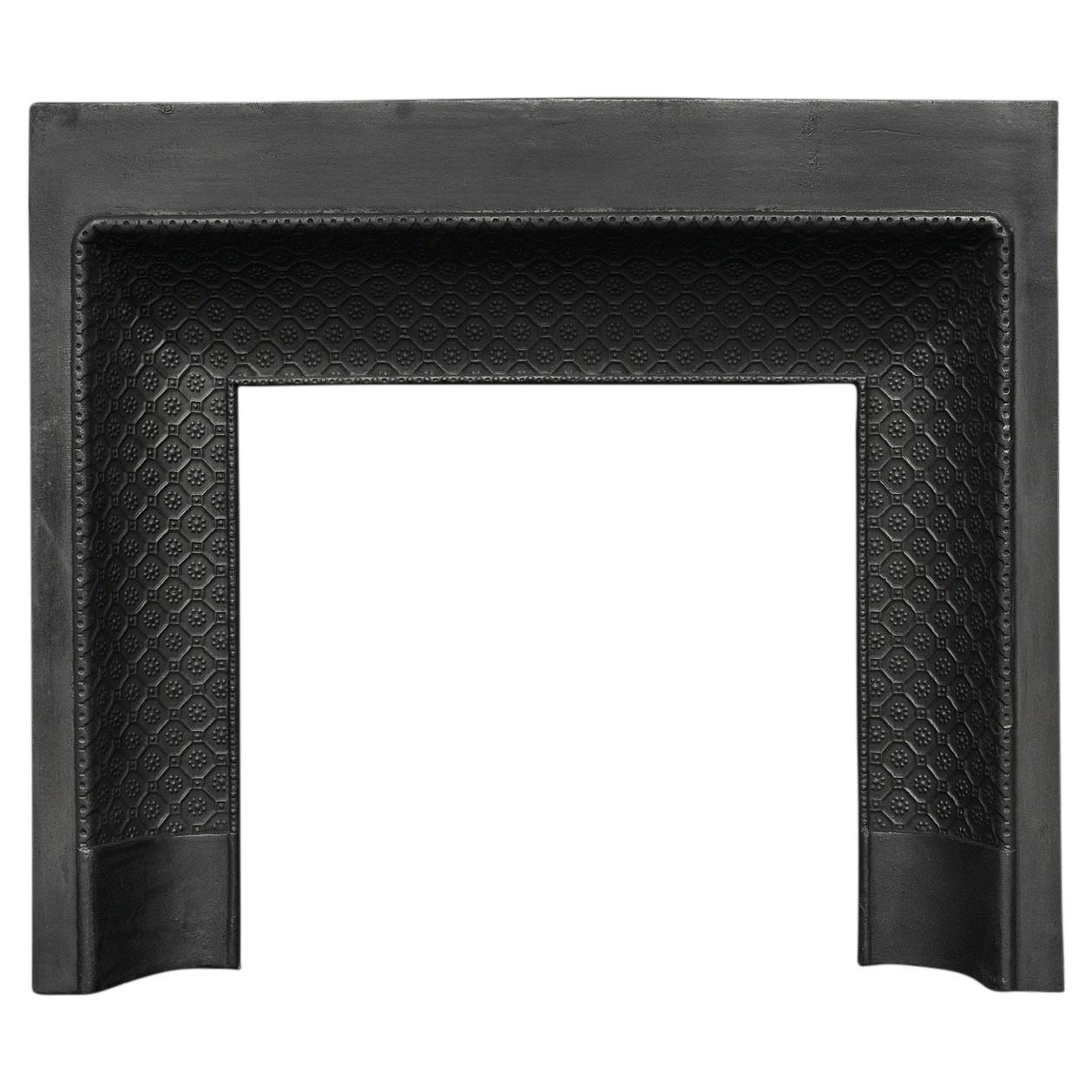 Decorative Cast Iron Fireplace Insert