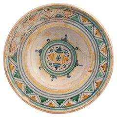 A Deruta Maiolica Dish Early 16th Century