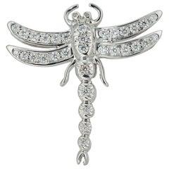 A Diamond Dragonfly Brooch by Tiffany & Co.