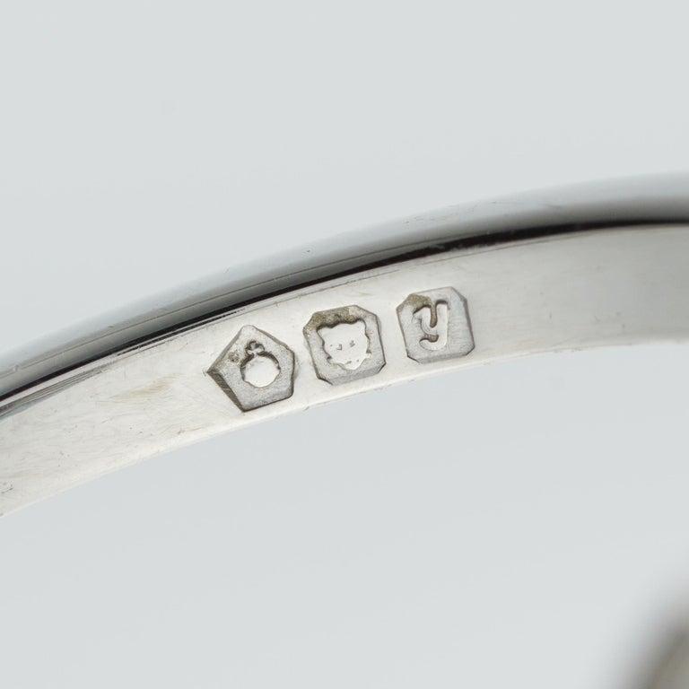 Brilliant Cut Diamond Three Stone Ring For Sale