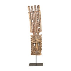 A Dogon Mali Dance Mask From Mid 20th Century