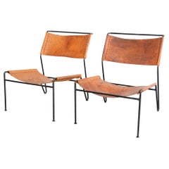 A. Dolleman Lounge Chairs for Metz & Co, Netherlands