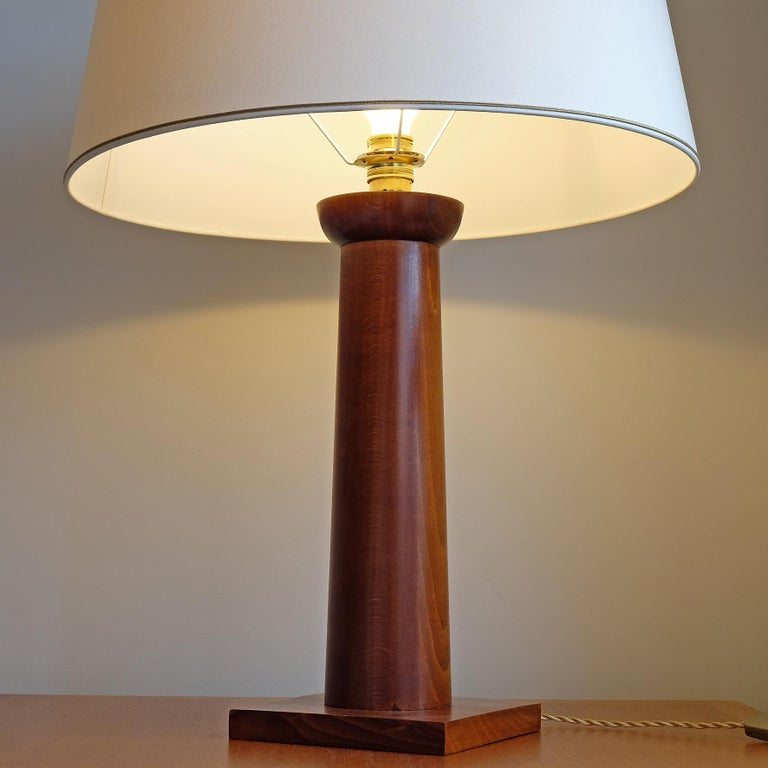 Doric Column Table Lamp, Art DecoStyle, 21st Century For Sale 3