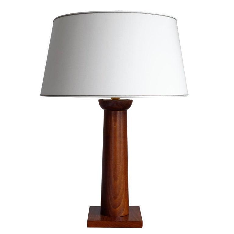 Doric Column Table Lamp, Art DecoStyle, 21st Century For Sale 4