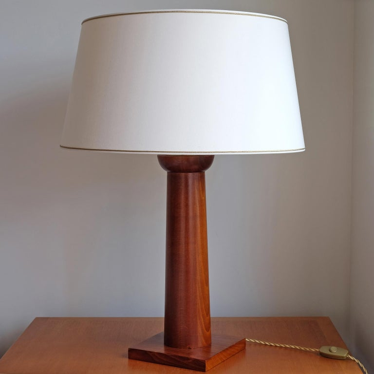 French Doric Column Table Lamp, Art DecoStyle, 21st Century For Sale