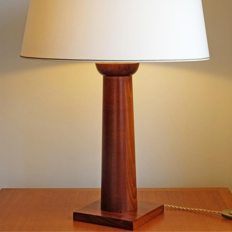 Doric Column Table Lamp, Art DecoStyle, 21st Century For Sale 1