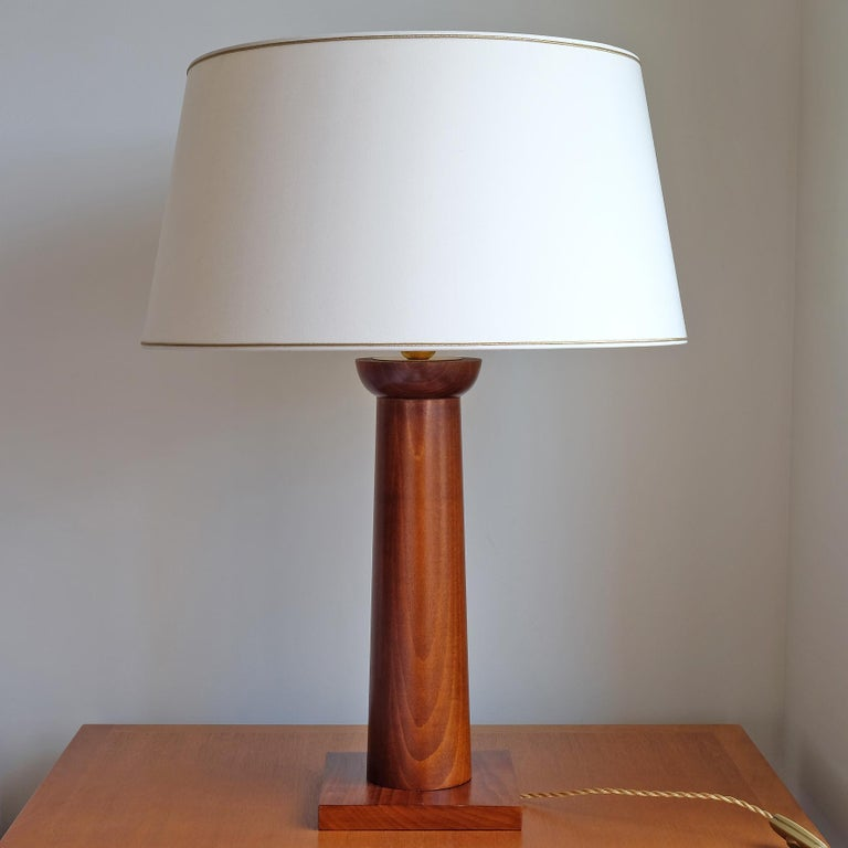 Doric Column Table Lamp, Art DecoStyle, 21st Century For Sale 2