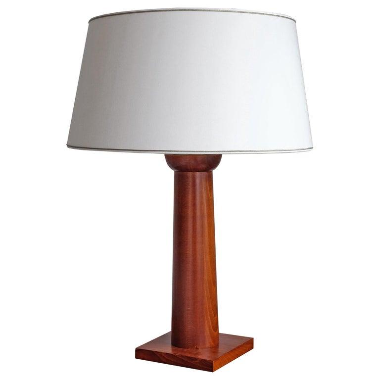 Doric Column Table Lamp, Art DecoStyle, 21st Century For Sale