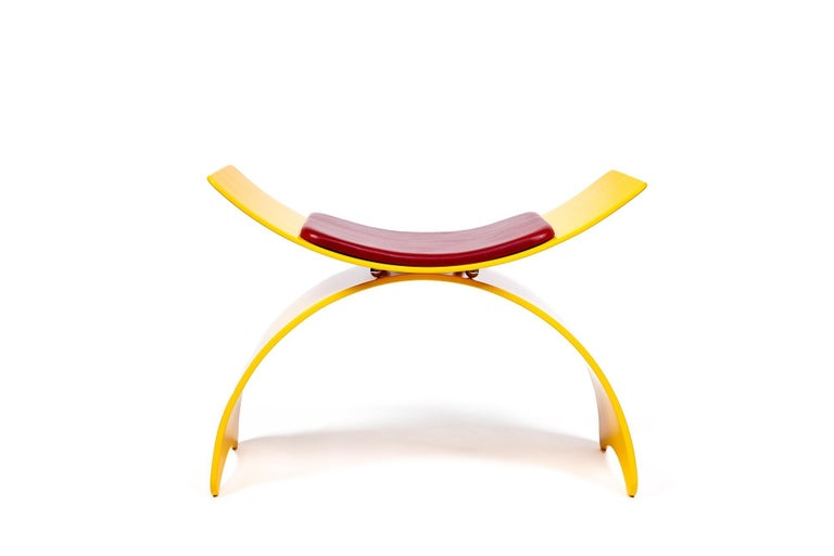 Modern Double Arch Chair by Rossi Studio For Sale