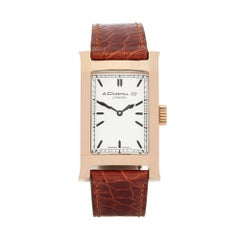 A. Dunhill Ltd. Facet Ltd. 24/500 18 Karat Rose Gold 8059A