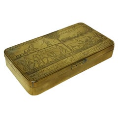 Dutch 18th Century Copper Tobacco Box