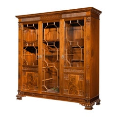Early 20th Century Mahogany Gun / Display Cabinet