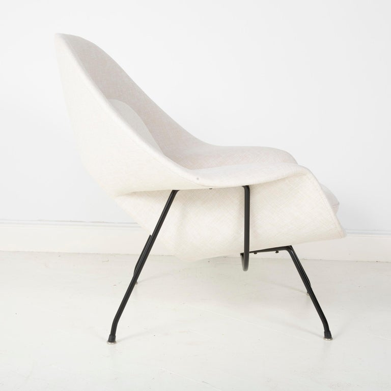Early Womb Chair Designed for Eero Saarinen In Good Condition For Sale In Stamford, CT