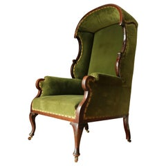 A Edwardian Porters Chair