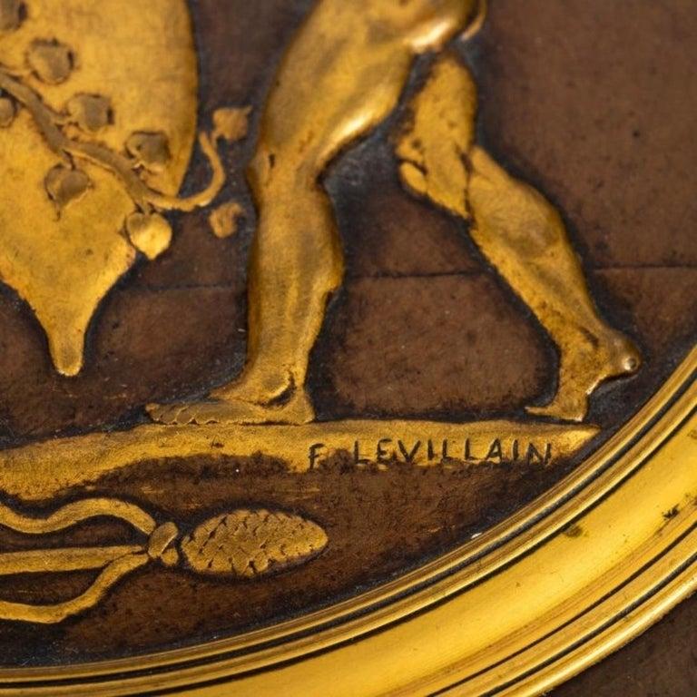 A Fantastic Ferdinand Levillain Tazza In Good Condition For Sale In Palm Beach, FL