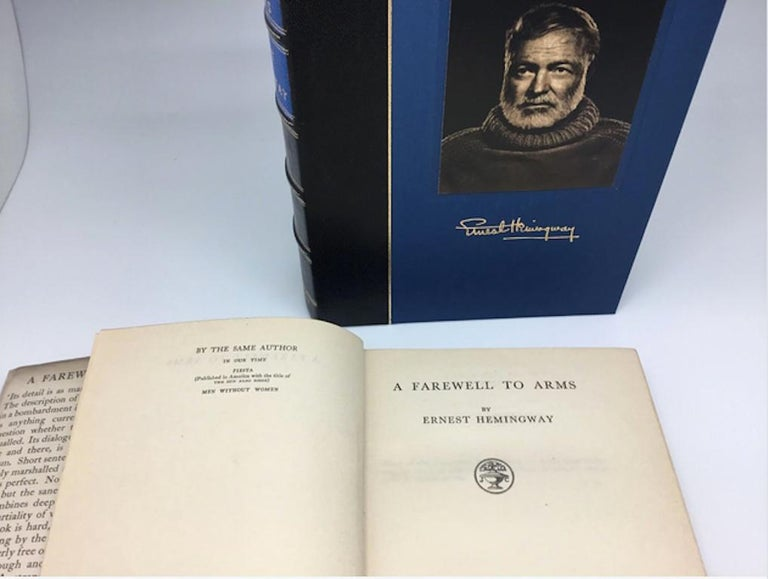 Hemingway, Ernest, A Farewell to Arms. London: Jonathan Cape, 1929. First British edition, second printing. Presented in original dust jacket with custom clamshell case.