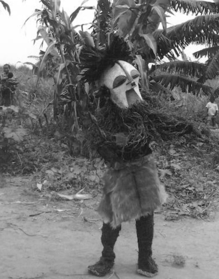 Female Songye Kifwebe Hand Carved Ceremonial Mask 6
