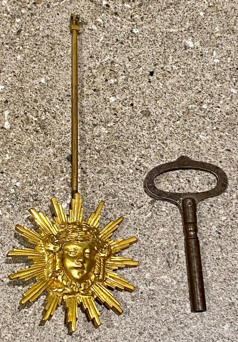 Ferdinand Berthoud. Louis XVI Ormolu Mounted Marble 3 Piece Clock Set 1770 For Sale 10