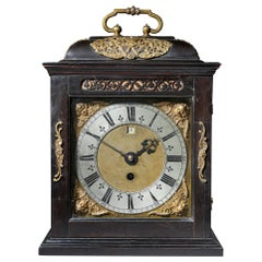 Fine 17th Century Charles II Spring Driven Table Clock by Deodatus Threlkeld