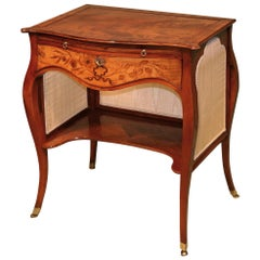 Fine 18th Century 'French Hepplewhite' Mahogany Ladies Writing Table