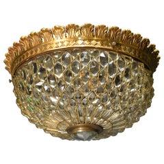 Fine and Elegant Gilt Bronze Pendant