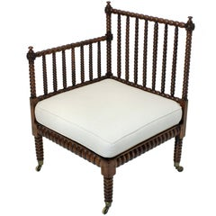 Fine Bobbin Corner Chair