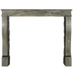 Fine French Small Vintage Fireplace Surround for Timely Chique Interior