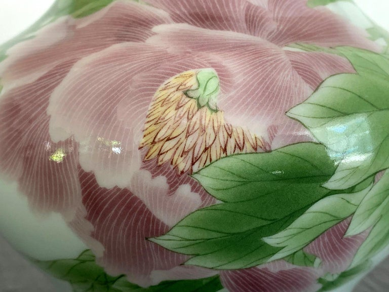 Fine Japanese Porcelain Vase by Makuzu Kozan Meiji Period For Sale 6