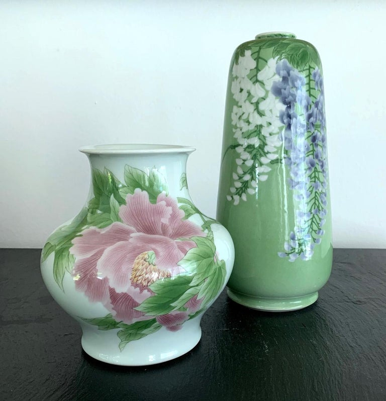 Fine Japanese Porcelain Vase by Makuzu Kozan Meiji Period For Sale 8
