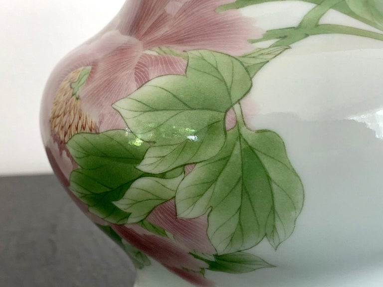 Fine Japanese Porcelain Vase by Makuzu Kozan Meiji Period For Sale 2